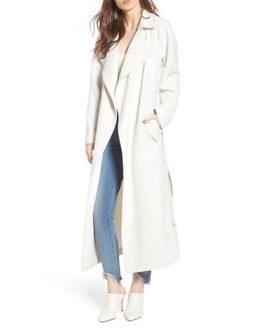and kensie coat draped womens rain alert shop rack trench deal jackets at coats nordstrom drapes