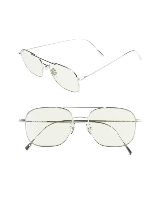 Cutler & Gross - White 54mm Polarized Navigator Sunglasses - for Men - Lyst