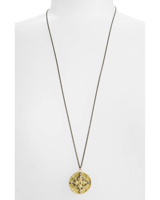Armenta - Metallic Old World Pendant Necklace - Lyst