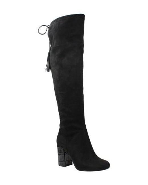 J. Reneé - Black Calcari Over The Knee Boot - Lyst