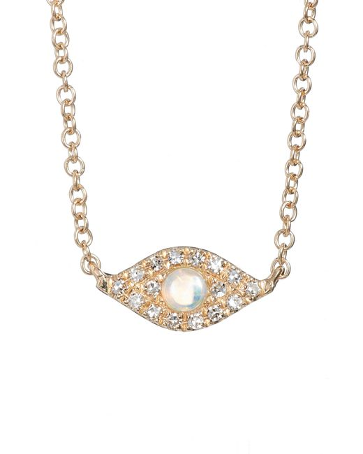 EF Collection - Metallic Evil Eye Diamond & Sapphire Pendant Necklace - Lyst