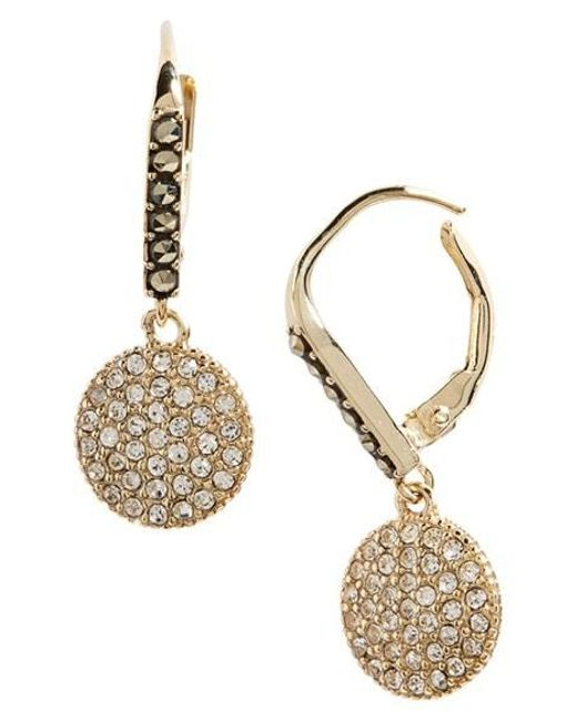 Judith Jack | Metallic Round Drop Earrings | Lyst