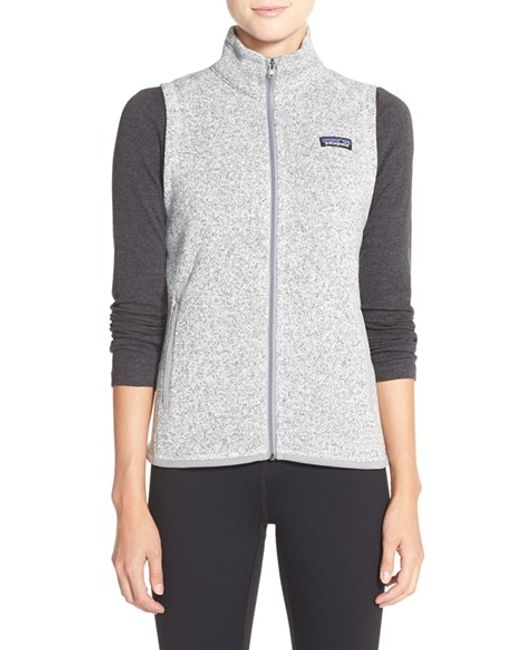 Patagonia | Gray Better Sweater Vest | Lyst