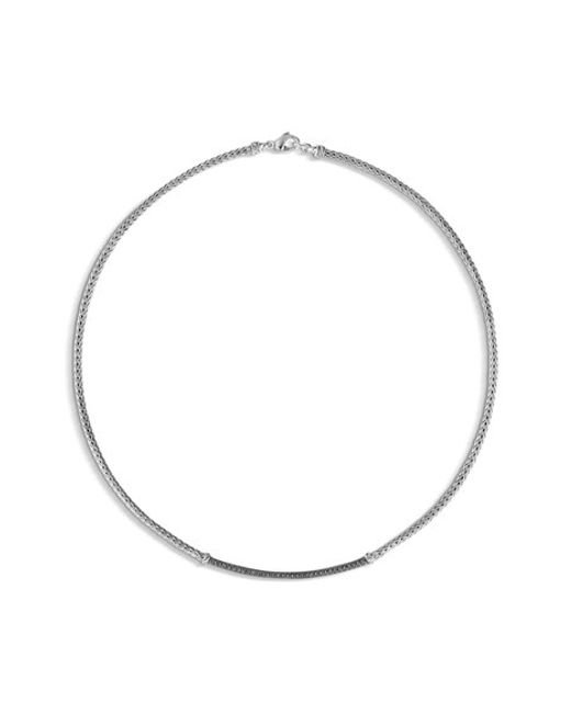 John Hardy | Metallic 'classic Chain' Collar Necklace | Lyst