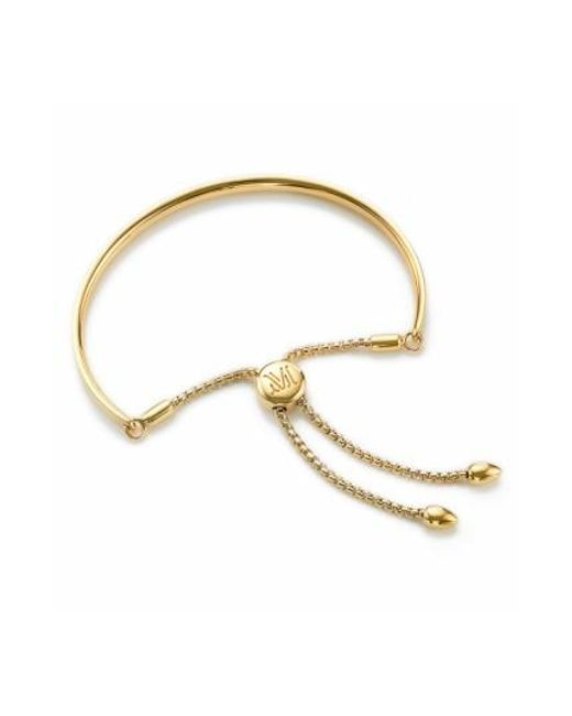 Monica Vinader | Yellow 'fiji' Chain Bracelet | Lyst