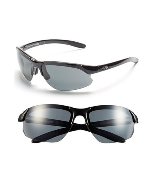 Smith Optics | Black 'parallel D Max' 65mm Polarized Sunglasses | Lyst