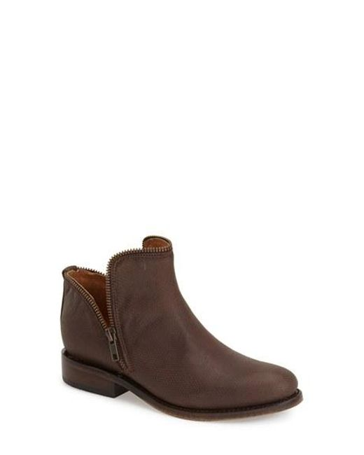 Matisse | Brown Zipper Ankle Boot | Lyst