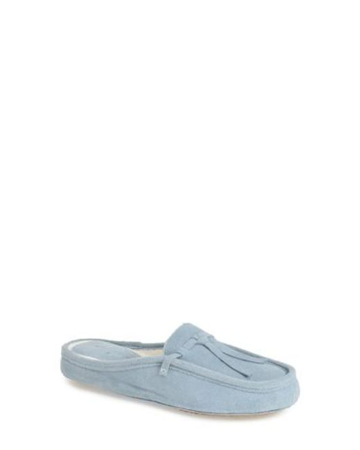 Patricia Green | Blue Greenwich Mule Slippers | Lyst