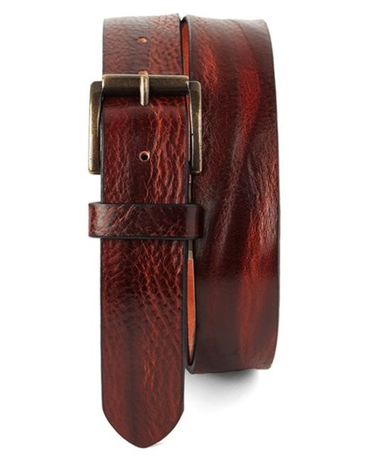 Tommy Bahama | Red Leather Belt for Men | Lyst