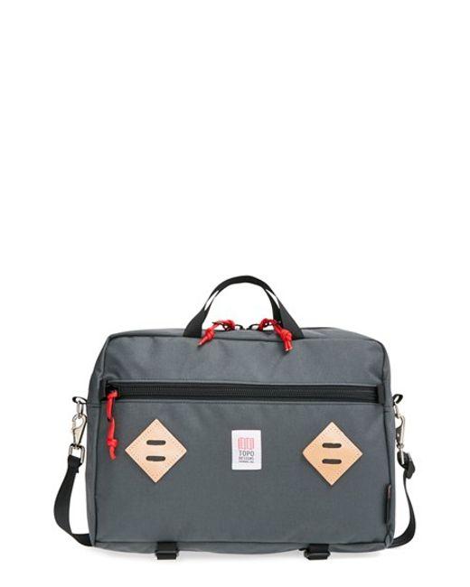 Topo Designs | Gray 'mountain' Briefcase for Men | Lyst