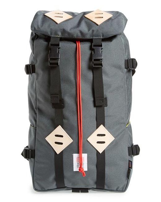 Topo Designs | Orange 'klettersack' Backpack | Lyst