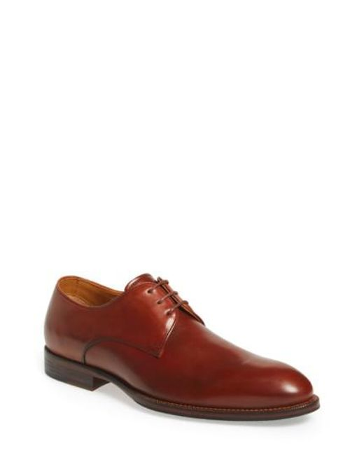 Vince Camuto | Brown 'brogan' Derby for Men | Lyst