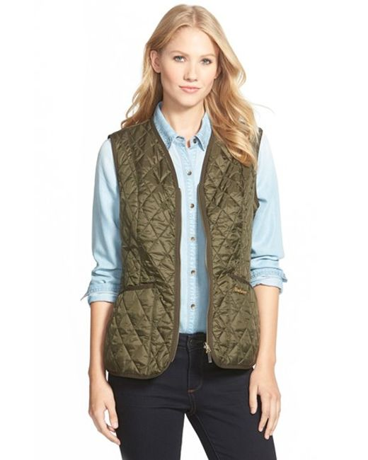 Barbour | Green 'beadnell' Quilted Liner | Lyst