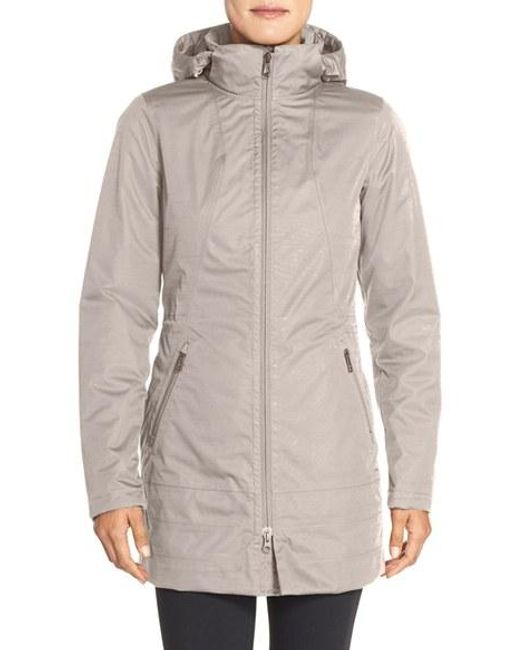 The North Face Ancha Hooded Waterproof Parka In