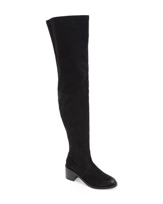 Seychelles | Black 'sardonyx' Thigh High Boot | Lyst