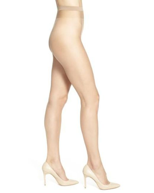 Wolford | Natural Naked 8 Pantyhose | Lyst