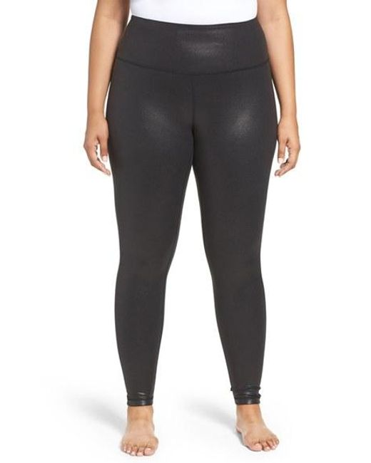 Zella Live In High Waist Leggings In Black Lyst