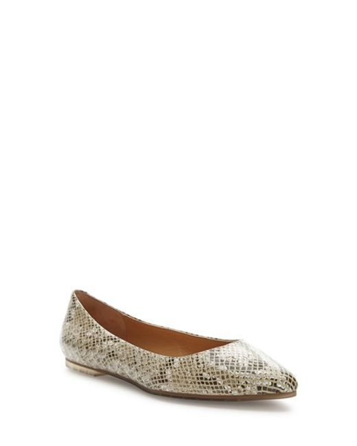 Me Too | Natural 'aimee' Flat | Lyst