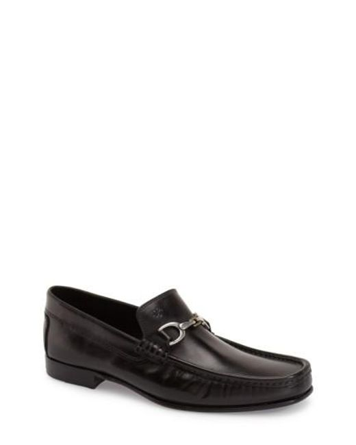 Donald J Pliner | Black 'darrin' Bit Loafer for Men | Lyst