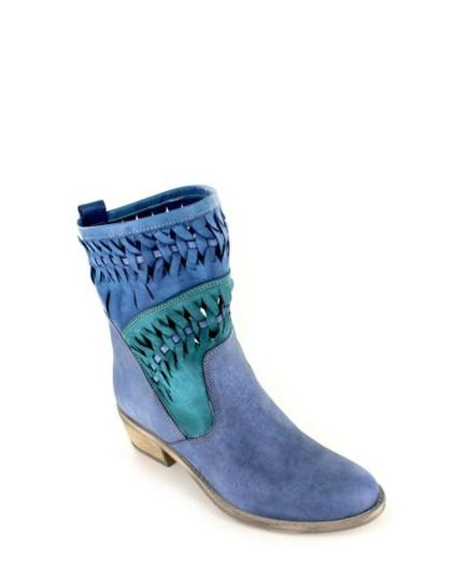Summit | Blue Christy Western Boots | Lyst