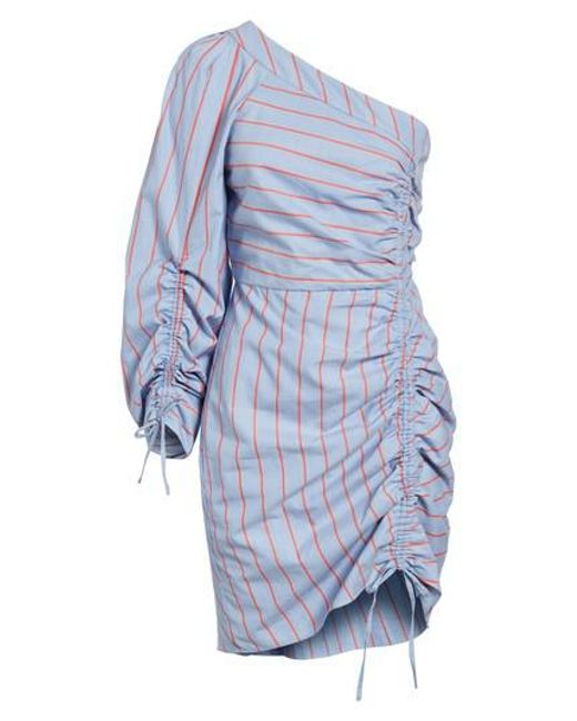 Parker | Blue Harmond One-shoulder Dress | Lyst