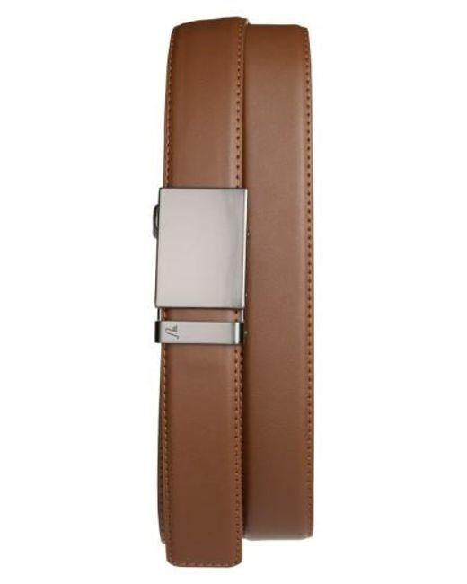 Mission Belt | Brown 'gun Metal' Leather Belt for Men | Lyst