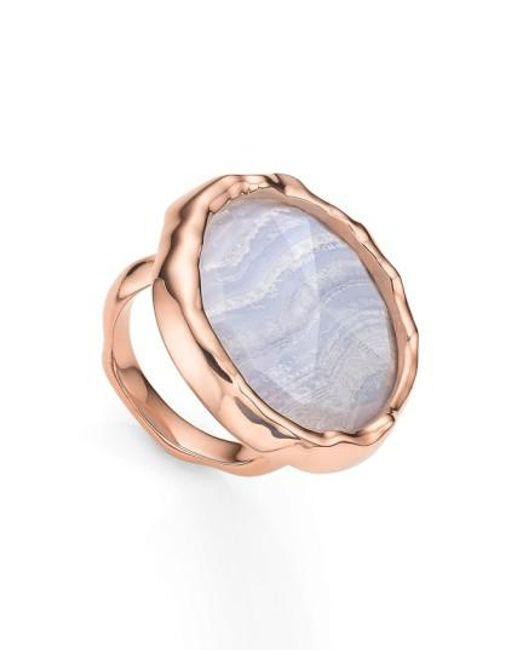 Monica Vinader   Multicolor 'siren' Semiprecious Stone Ring   Lyst