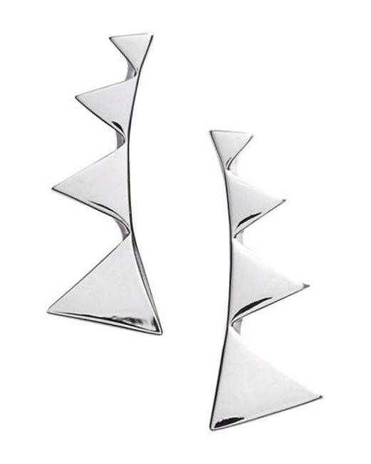 Nadri | Metallic Triangle Ear Crawlers | Lyst