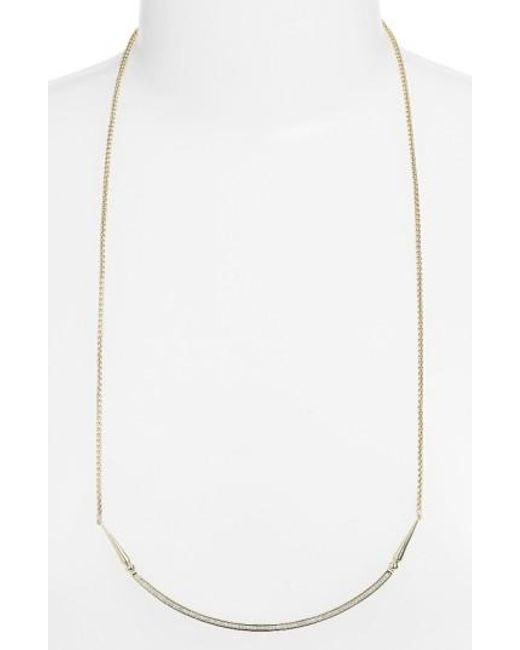 Kendra Scott | Metallic 'scottie' Pendant Necklace | Lyst