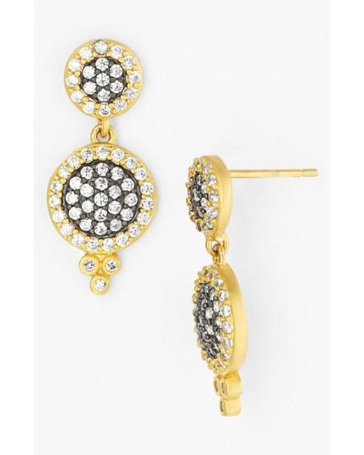 Freida Rothman - Metallic 'metropolitan' Drop Earrings - Lyst