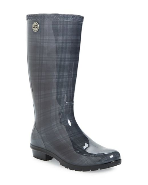 Ugg Ugg Shaye Shearling Lined Waterproof Mid Calf Rain