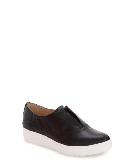 Dr. Scholls   Black 'original Collection - Blakely' Laceless Platform Sneaker   Lyst