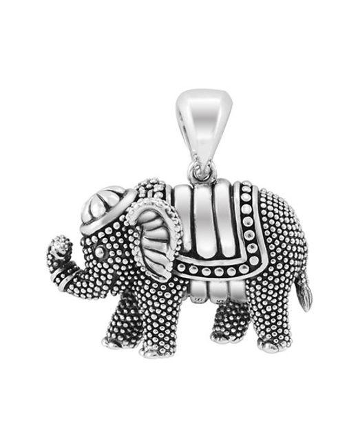 Lagos   Metallic 'rare Wonders - Elephant' Long Talisman Necklace   Lyst