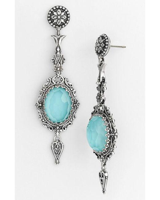 Konstantino   Metallic 'aegean' Drop Earrings   Lyst