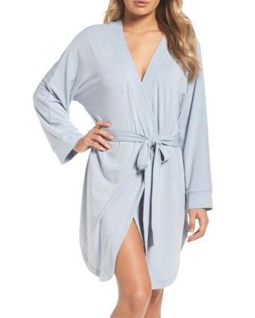 Honeydew Intimates   Blue Jersey Robe   Lyst