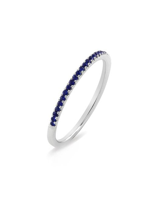 Bony Levy | Metallic Stackable Gem Straight Band Ring (nordstrom Exclusive) | Lyst