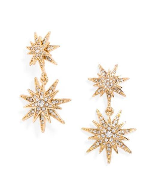 Baublebar Celestial Drop Earrings In Gold Lyst