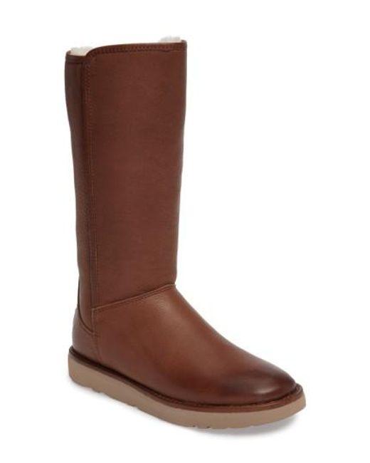 Ugg | Brown Ugg Abree Ii Water Resistant Boot | Lyst