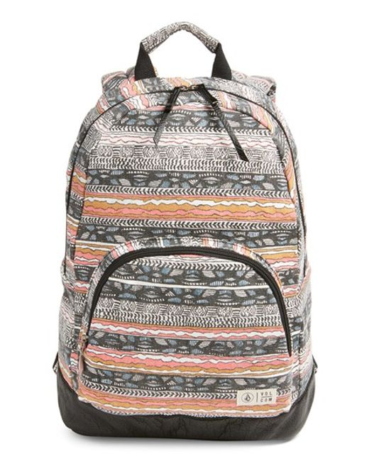 Volcom | Blue 'schoolyard' Canvas Backpack | Lyst