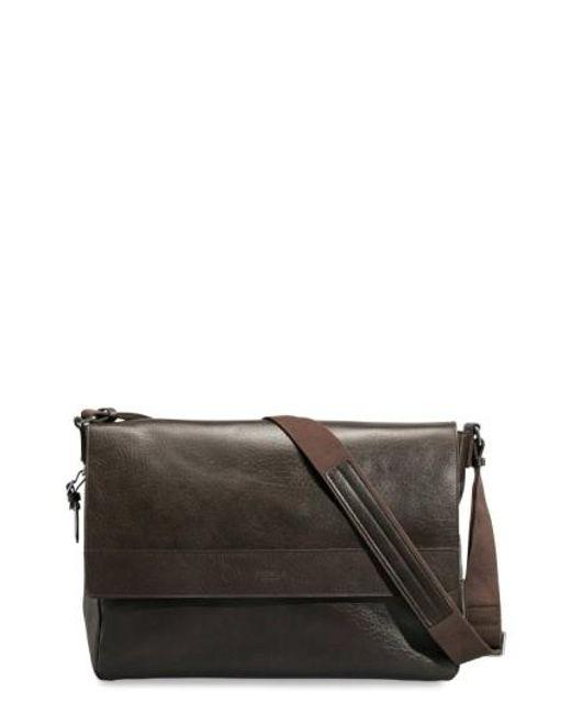 Shinola | Brown East/west Messenger Bag for Men | Lyst