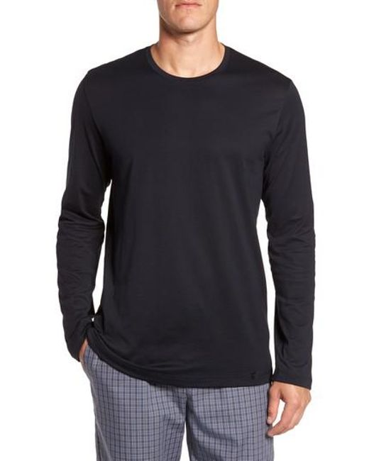 Hanro - Black Night & Day Lounge T-shirt for Men - Lyst