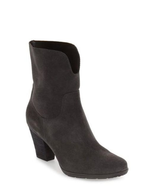 Blondo | Gray Fay Waterproof Ankle Boot | Lyst