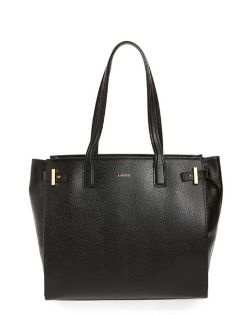 Lodis | Black Jem Multifunction Leather Tote | Lyst