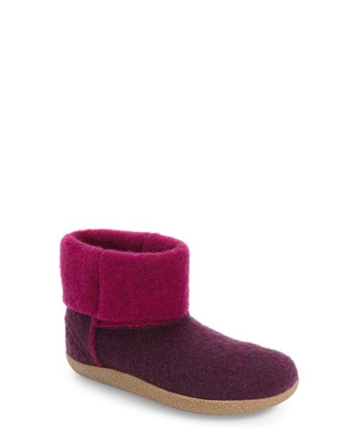 Giesswein | Purple Bigelow Cuffed Water Repellent Slipper | Lyst