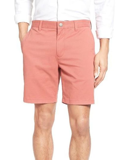 Bonobos | Brown Stretch Washed Chino 7 Inch Shorts for Men | Lyst
