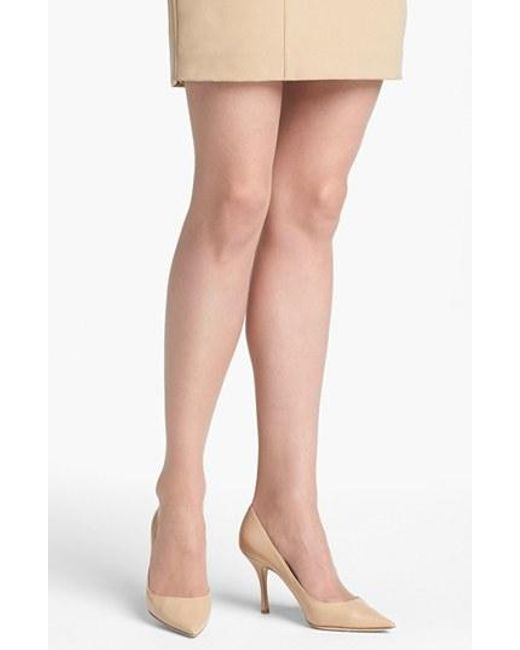 Donna Karan | Natural Donna Karan 'the Nudes' Sheer To Waist Hosiery | Lyst