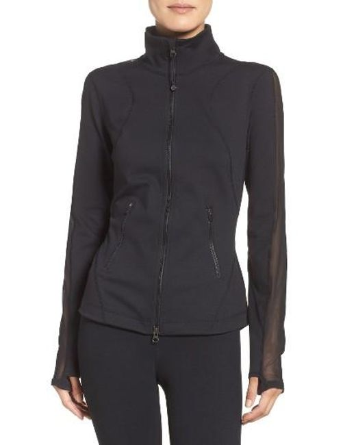 Zella | Black Stardust Training Jacket | Lyst