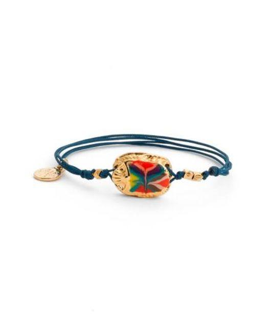 Gas Bijoux   Blue 'scaramouche' String Bracelet   Lyst