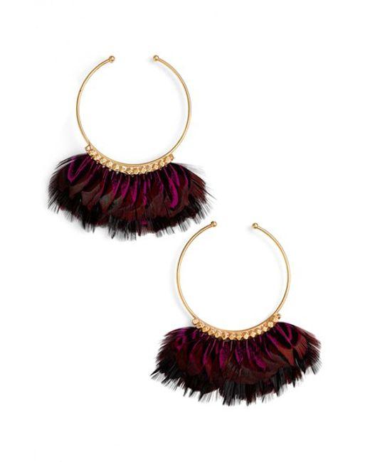 Gas Bijoux | Metallic Buzios Earrings - Purple Multi | Lyst