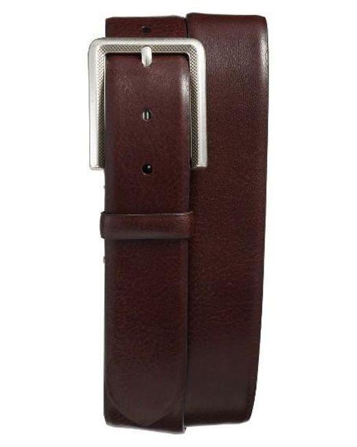 Mezlan | Brown Vaqueta Leather Belt for Men | Lyst